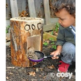 A smaller version of our wonderful rustic log oven that is perfect for your toddlers. Children will love cooking up a mud pie feast in this.