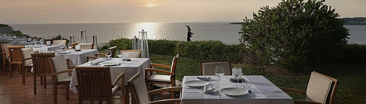 Galazia Hytra Restaurant, at #TheWestinAthens was just awarded two Michelin stars!