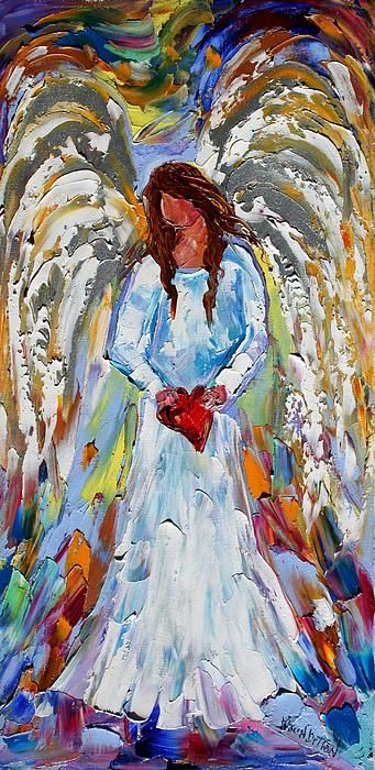 Du hast mein Herz Leinwanddruck / Leinwandbild von Karen Tarlton