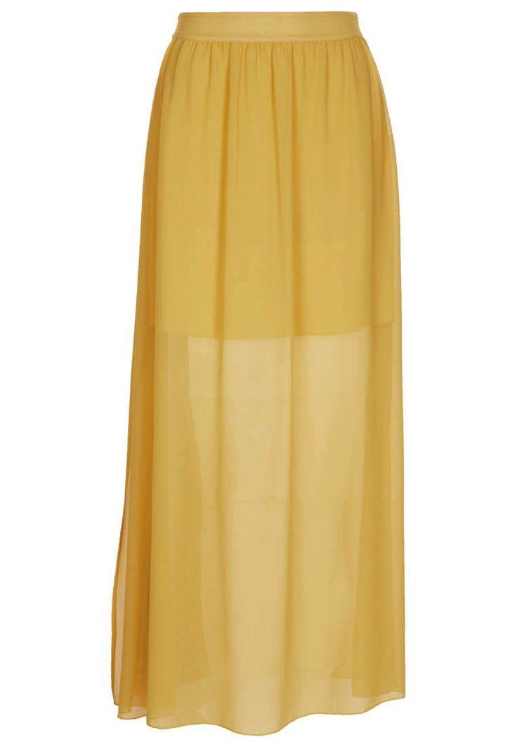 Falda larga - Zalando Collection ☼ Zalando ☼ Amarillo ☼