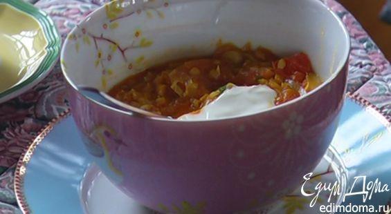 Бульон в этот суп добавляйте по вкусу, чтобы консистенция получилась такая, как вам нравится.