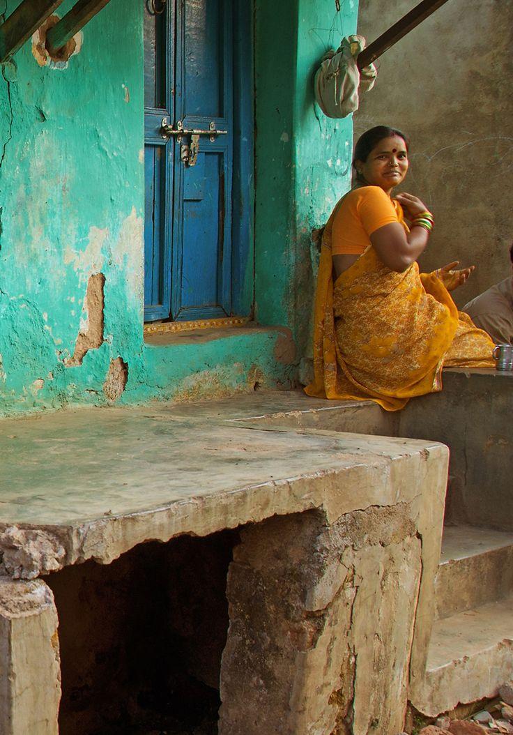 De straatjes van Orissa (gemaakt in Odisha)