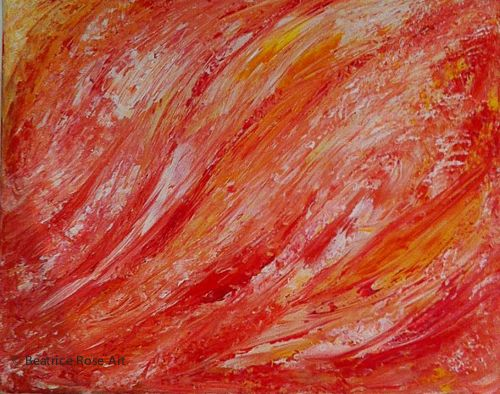 """""""Bubbling Fire"""" available for sale"""