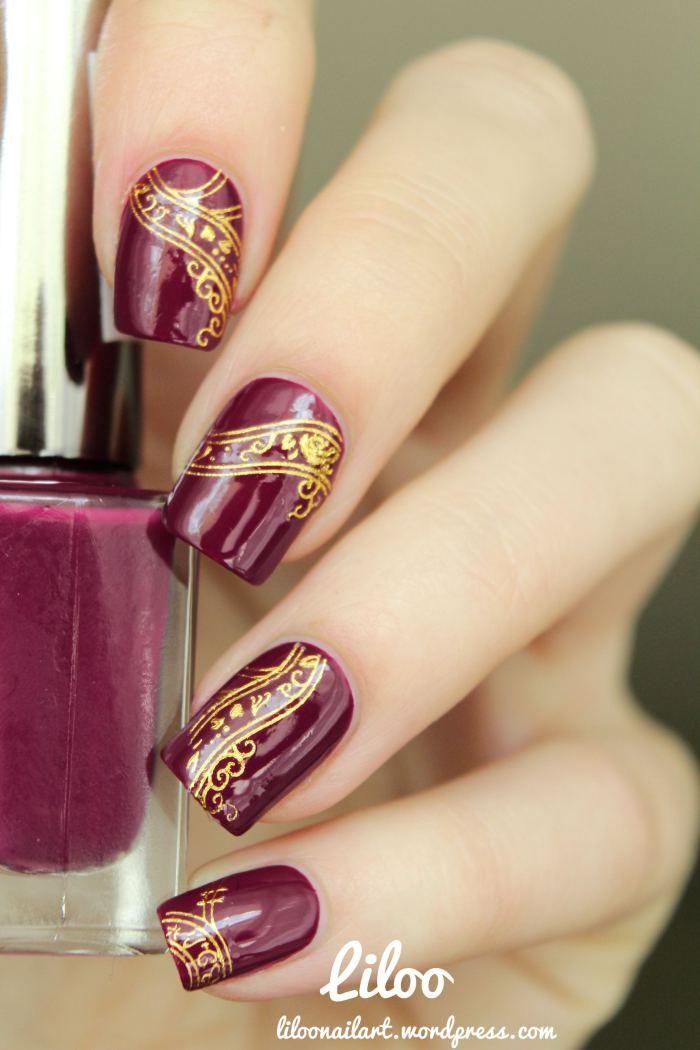 Nail art gallery | Liloo stamping nail art                                                                                                                                                                                 Plus