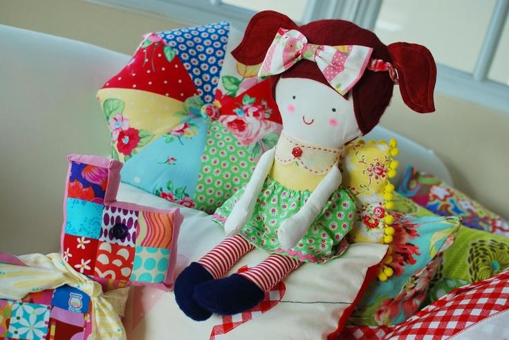 Such a cute little doll!