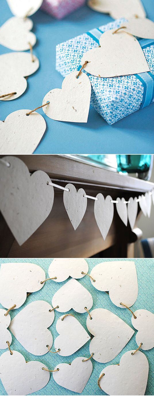 Love the simplicity of this bunting.