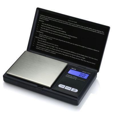 Digital Pocket Scale Black - AWS-1KG-BLK