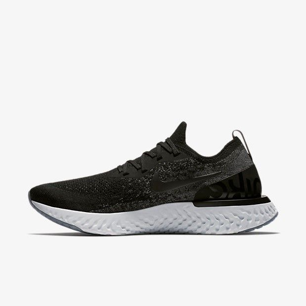Nike Epic React Flyknit Black/Grey