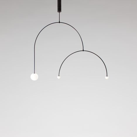 mobile chandelier 9 by michael anastassiades is one of james mairs top five minimalist furniture choices - Minimalist Furnitures