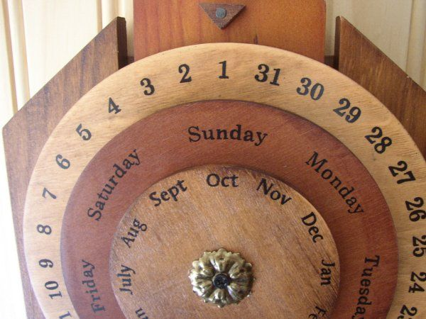 Need to make one of these! Calendar