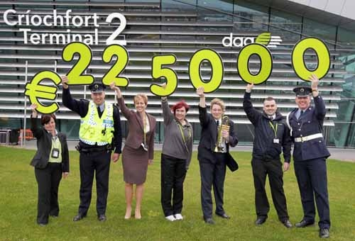 DAA raised €225,000 for Turning The Tide of Suicide (3Ts) its Charity of The Year in 2011