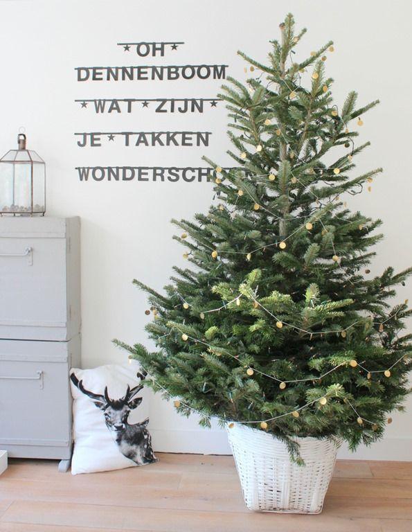 #Wordbanner #tip: Oh dennenboom wat zijn je takken wonderschoon