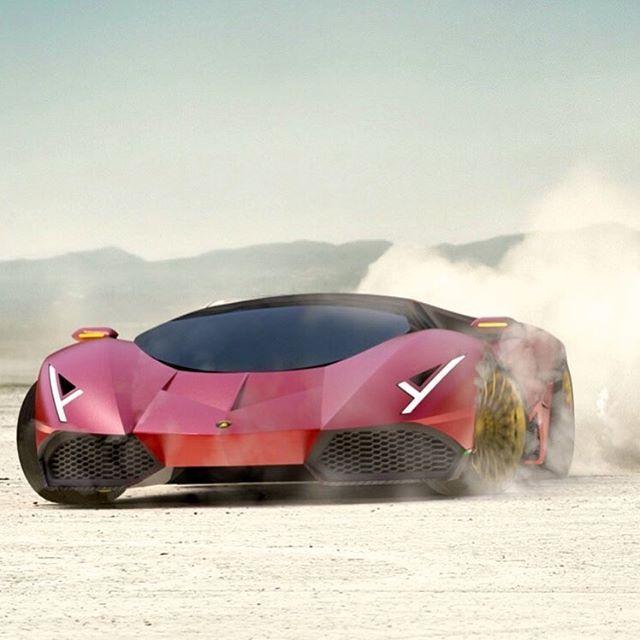 Arash Shahbaz (@arashshahbazofficial) Instagram: «Lamborghini Ferruccio | Arash Shahbaz #automotivedesign #transportdesign #cardesign…»