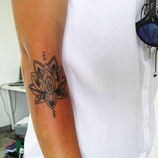 Image result for lotus flower mandala tattoo inner arm small