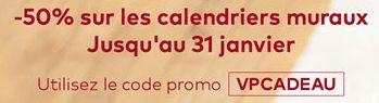 #Codepromo #Reduc #Promo #Vistaprint : 50% de réduction sur les #calendriers muraux