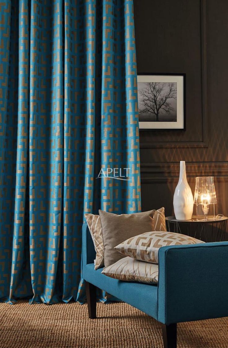Moderne Wohnzimmer Bilder Easy Elegance Vorhang Und Kissen