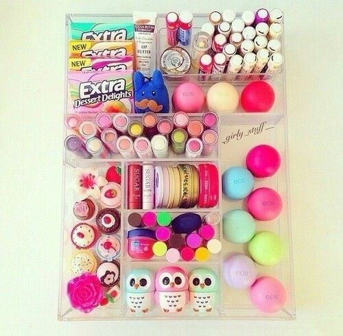 cute organization for your dresser