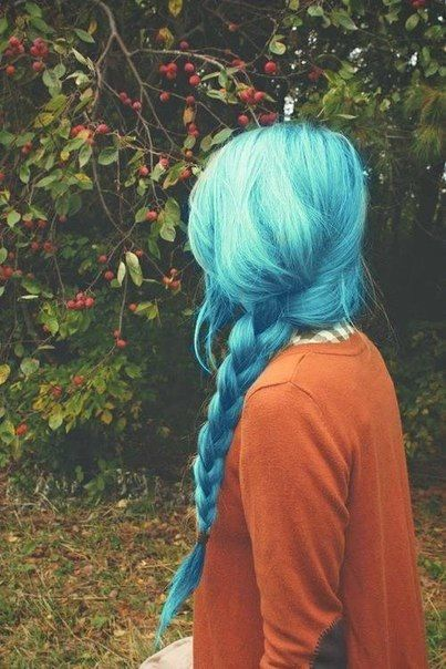 .Blue Hair, love it!!