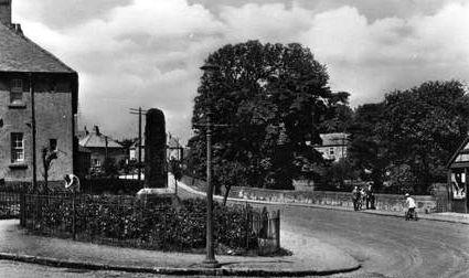 Old photograph of Barrhead, East Renfrewshire, Scotland