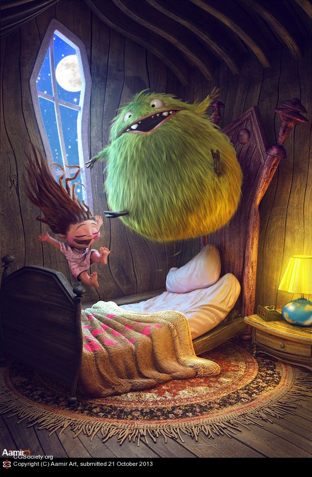 Slumber party :) by Aamir Art | 3D | CGSociety