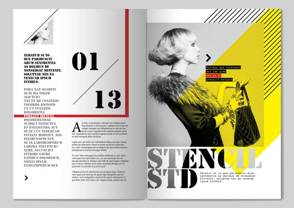 13 styles magazine design by tony huynh via behance for Designs magazine