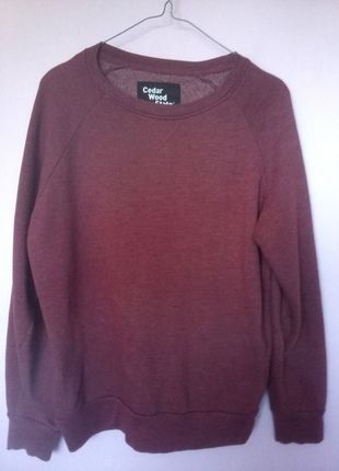 Kup mój przedmiot na #vintedpl http://www.vinted.pl/damska-odziez/bluzy/14005799-bordowa-bordo-bluza-cedar-wood-state-m-38