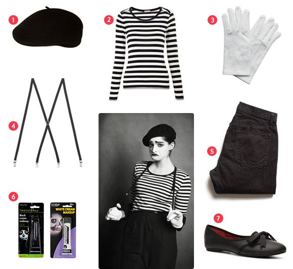 Easy Halloween Costume - Mime | To Live Beautifully