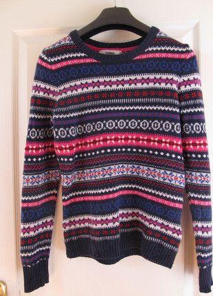 Kupuj mé předměty na #vinted http://www.vinted.cz/damske-obleceni/pletene-svetry/9586167-vanocni-barevny-svetrik