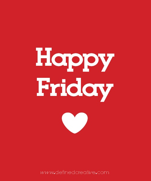 Share the love. Happy Friday.