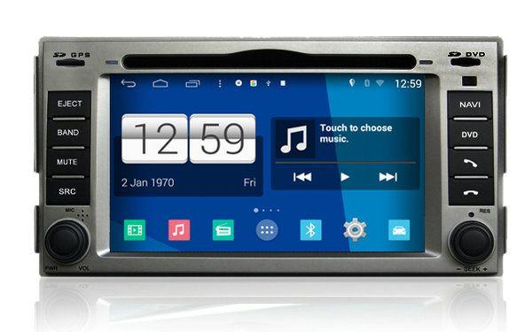 S160 Android 4.4.4 CAR DVD player FOR HYUNDAI SANTA FE/ELANTRA car audio stereo Multimedia GPS Head unit