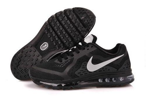 timeless design c933e 85bc4 Nike Air Max 2014 Men Shoes Black White Denmark