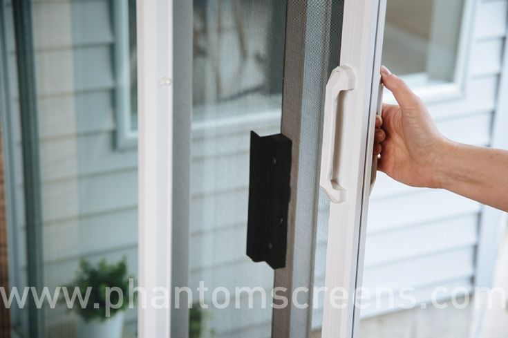 17 best images about open your doors to good things on for Phantom sliding screen doors