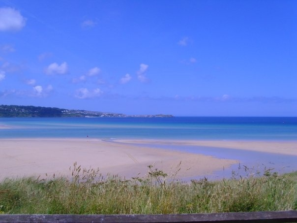 Just blue beauty! Hayle, cornwall, UK <3