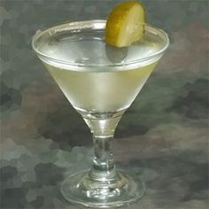 Dill Pickle Martini - 1 part pickle juice, 3 parts vodka