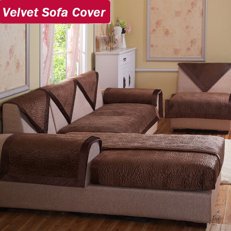 Buy velvet fabric sofa brown decorative sofas