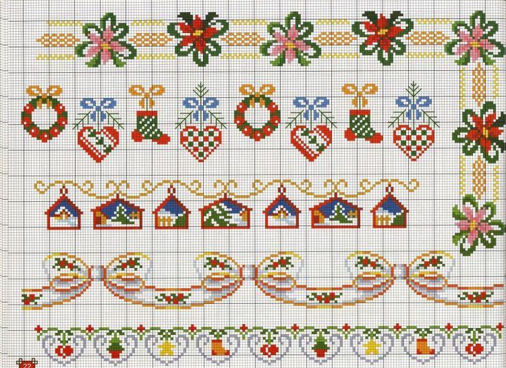 Gallery.ru / Фото #20 - A punto croce 23. Speciale bordure - Los-ku-tik