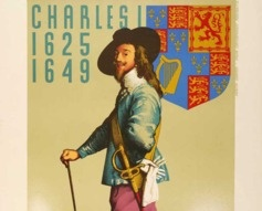 1935 Charles I Richmond Park London Underground Poster