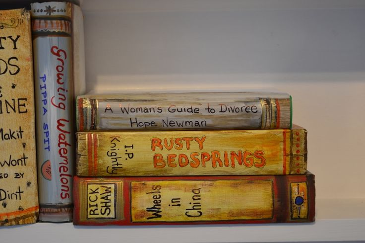 Fun Bookends, made by Ronda Turk at Studio 202 Levin.