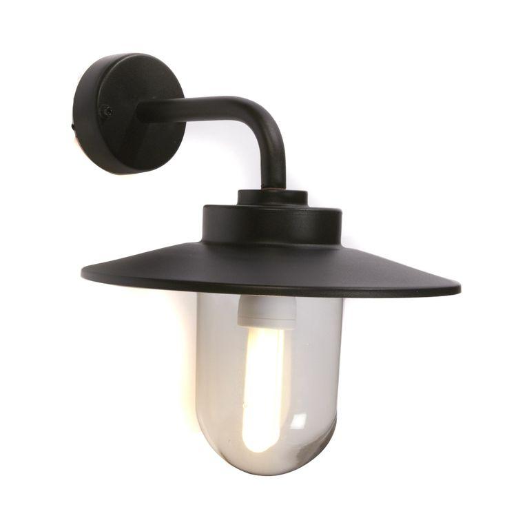 Applique d'extérieur Noir - Austin - Les bornes et appliques - Le luminaire de jardin - Jardin - Décoration d'intérieur - Alinéa
