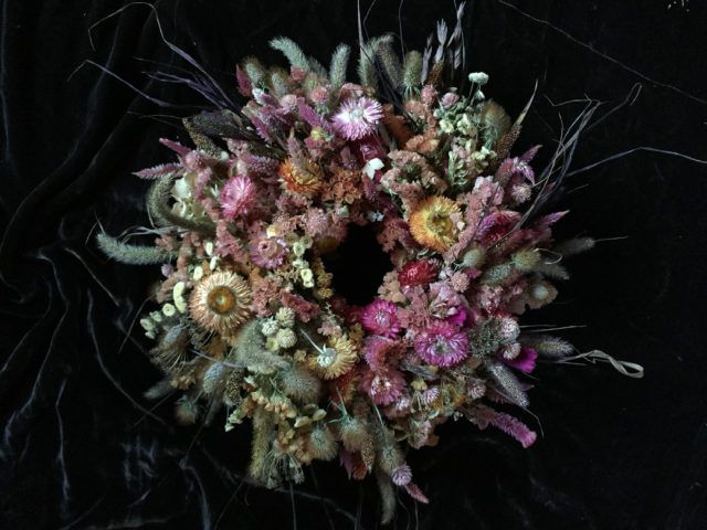 Discovering Dried Flowers Floret Flowers Dried Flower Wreaths Dried Flowers Dried Wreath