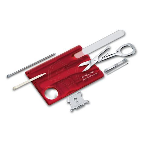 Victorinox - SwissCard Red Nail Care Set | Peter's of Kensington