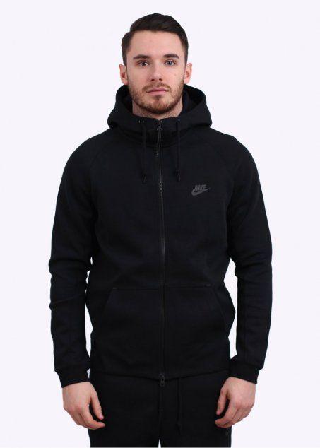Nike Tech Fleece AW77 Hoody - Black
