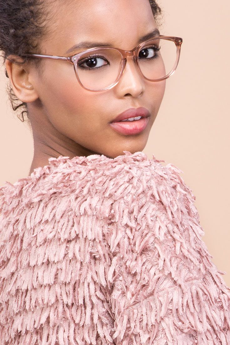 Rosé all day. Nadine Rose from our collaboration with Maripier Morin. The perfect everyday frame.