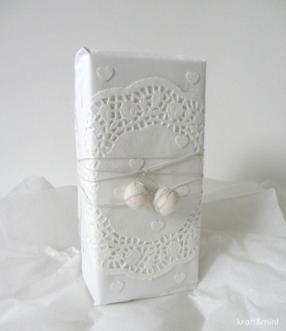 all-white gift