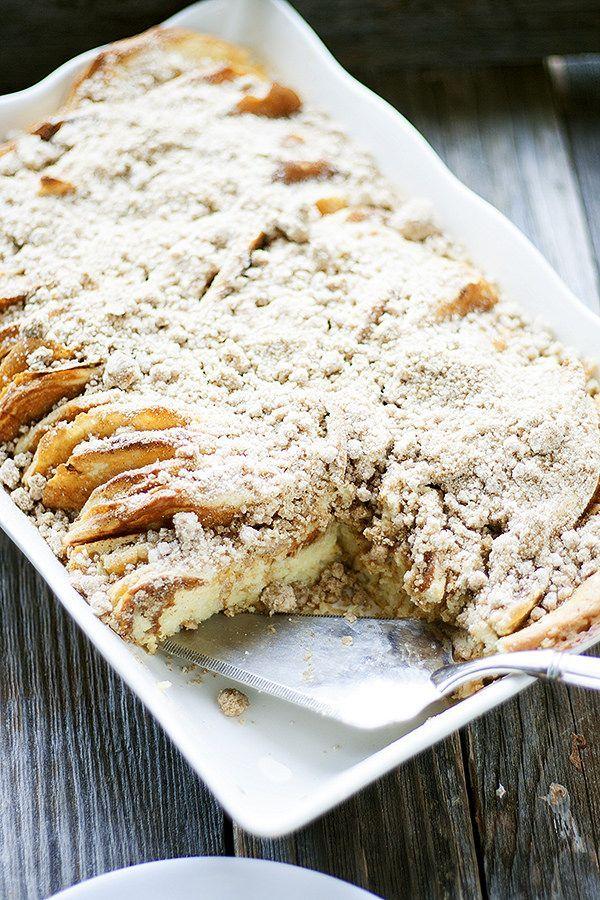 your Christmas breakfast | overnight pancake casserole