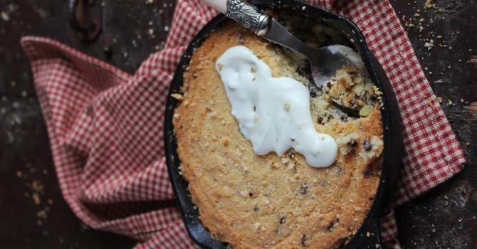 La recette du One pan cookie : http://www.fourchette-et-bikini.fr/actus/la-recette-du-one-pan-cookie-35244.html