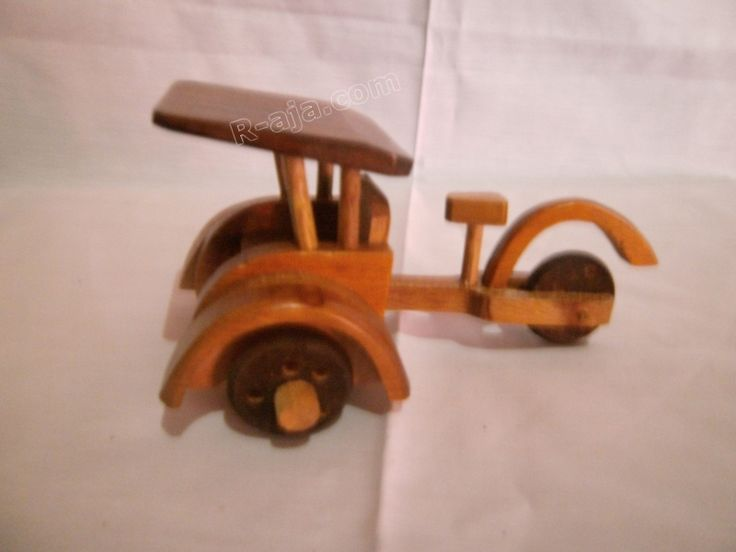 Handicraft Wooden Craft Wooden Miniature Pedicab