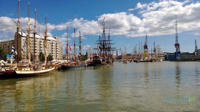 The Tall Ships at Länsisatama, Helsinki
