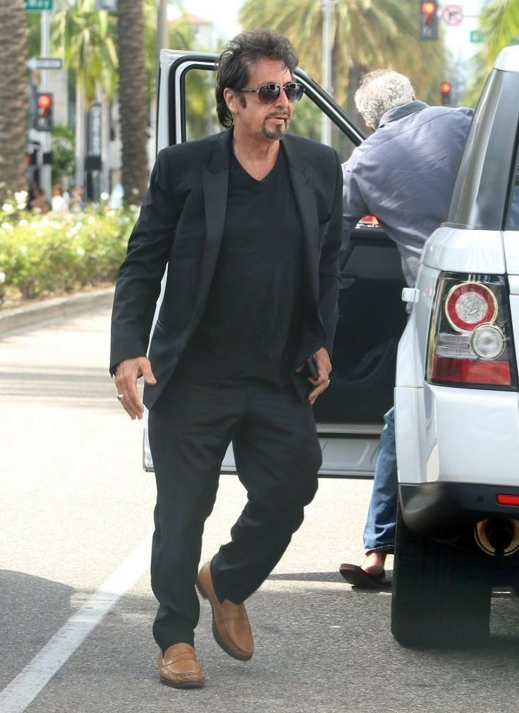 Al Pacino and his girlfriend Lucila Sola enjoy lunch together at the Luxe Hotel on Rodeo Drive in Beverly Hills, California on August 19, 2014.
