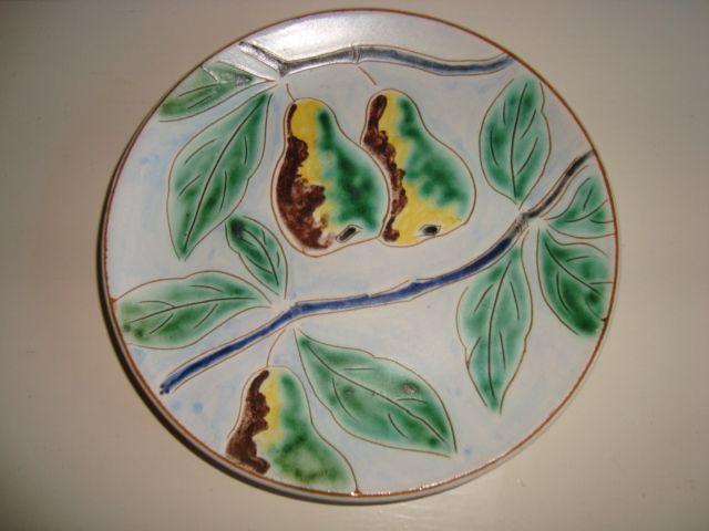 ESLAU tallerken/plate - AGNETHE SØRENSEN. 1940s. Sign: Eslau Nethe.  #Eslau #Nethe #keramik #ceramics #pottery #danishdesign #nordicdesign #klitgaarden. SOLGT/SOLD from www.klitgaarden.net.